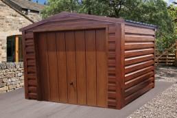 wood garages