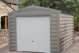 grey shed